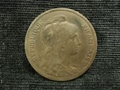 France, 10 Centimes 1916, GF, FT96